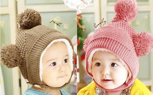 Knitted Hat Baby Baby Kids Kids Hats & Cap Girl Boys Kids Hats & Cap A3