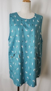 Cotton Print Apron Animal Print Animal Soft Fabric