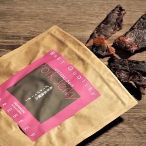 鳥取県産豚のポークジャーキー 発色剤・人工調味料・保存料無添加