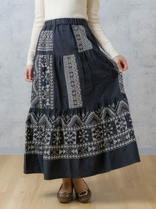 India Embroidery Long Skirt