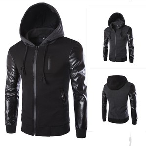 Fashion With Hood Jacket Men's Coat A3