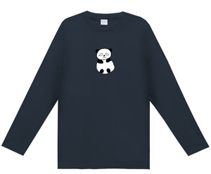 Kids男女用「おとぼけアニマル(パンダ)」薄手長袖Tシャツ