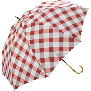 Umbrella Stick Umbrella Bias Checkered
