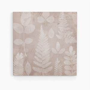 Square Canvas Panel 7mm Botanical Plant Antique