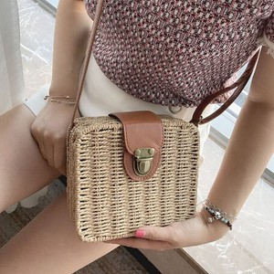 Straw Bag Ladies Shoulder Bag Messenger Bag