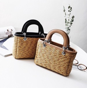 Straw Bag Ladies Portable Shoulder Bag Messenger Bag