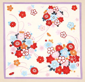 """Furoshiki"" Japanese Traditional Wrapping Cloth Sakura Flower Knot"