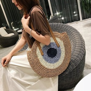 Weaving Bag Single-shoulder Straw Bag Beach Bag Ladies Bag