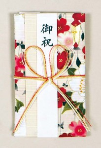 Japanese Noshi decorated envelopes Bow Weeping cherry tree