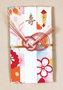 Japanese Noshi decorated envelopes Awaji Flower Knot