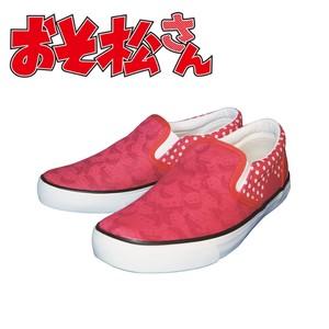 値下げしました!超激安!!アニメおそ松さん 松スリッポン おそ松 靴 スニーカー キャラクター 2021イチオシ