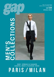 2021 S/S DIGITAL MEN'S FASHION WEEK gap MEN'S COLLECTIONS PARIS/MILAN vol.124 Special Issue
