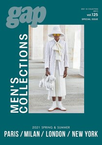 2021 S/S gap MEN'S COLLECTIONSPARIS/MILAN/LONDON/NEW YORK vol.125 Special Issue