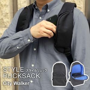 ハーネスがポケットになる大容量バッグ『スタイルリュック [City walker]』KF-02