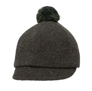 NEW【北欧】ポンポンハット コンバイ ツンドラ モスグリーン 60cm《帽子》