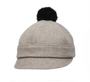 NEW【北欧】ポンポンハット アズマット トニカ サンド 60cm《帽子》