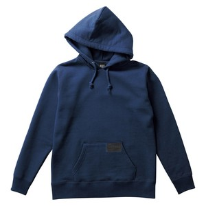 Heavy Cotton Pullover Hoody Raised Back Casual Men's Ladies Navy