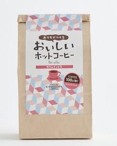 カワシマオリジナル おうちでつくるおいしいホットコーヒー カフェインレス(粉)