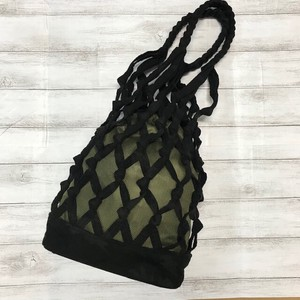 Artisans Hand Knitting Loop Bag Dazzle Paint