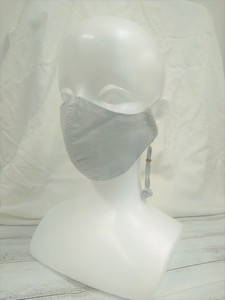 [reccomendations in 2021] Charm Attached Mask Cotton Linen Material color