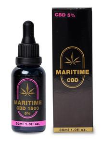 MARITIME マリタイム CBDオイル cbd oil 30ml 1500mg 濃度(5%) エクストラバージンオリーブオイル