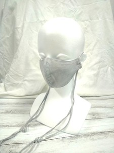 Long Fringe Mask Cotton Linen color