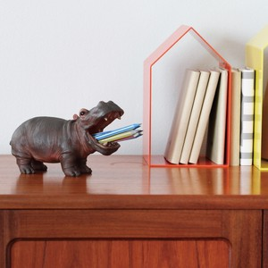 Pen holder Toothbrush Holder HIPPO Brown