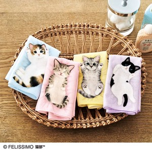 Kitten Towel Handkerchief