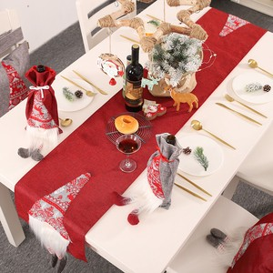 Christmas Decoration Solid Table Decoration Tablecloth