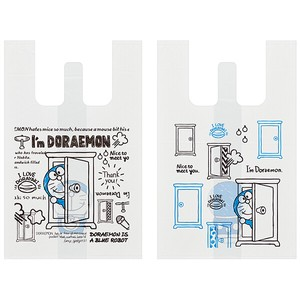 持ち手付袋 S 10枚 【I'm Doraemon】