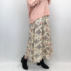 Botanical Rayon Gather Skirt