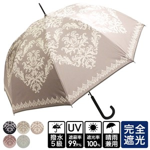 20 S/S All Weather Umbrella Damask One push Umbrellas UV Cut Countermeasure