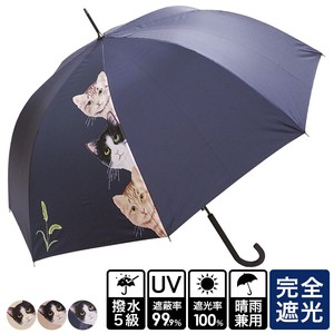 20 S/S All Weather Umbrella Cat Three One push Umbrellas UV Cut Countermeasure