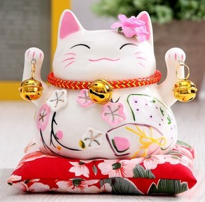Lucky Cat Decoration Desk Accessory Creative Gift