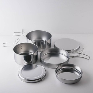 Ring Cooker Set Made in Japan Western Plates