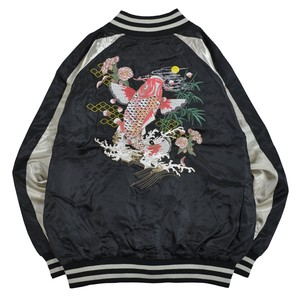 Japanese Pattern Sukajan Jacket Men's