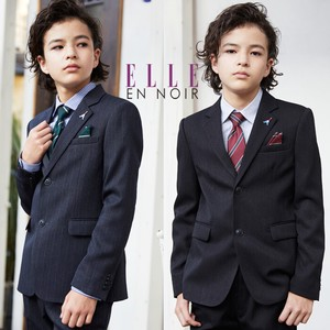 Graduate Boys ELLE Button Stripe Suits