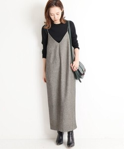 Korea Fashion A/W One-piece Dress Ladies One-piece Dress Long One-piece Dress