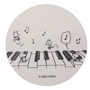Water Absorption Coaster Piano Wood SNOOPY