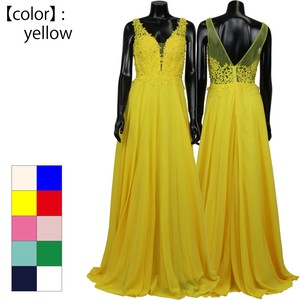 Costume Night Work Lace Chiffon Long Dress