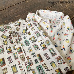 Early Spring Repeating Pattern Print Shirt