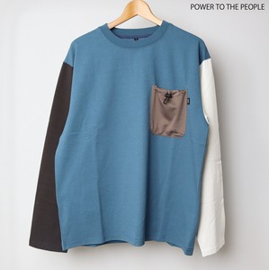 Early Spring Pocket Long T-shirts