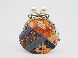 Feeling Coin Purse Pouch Coin Case Base Japanese Pattern