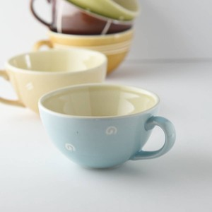 Soup Cup Light blue MINO Ware