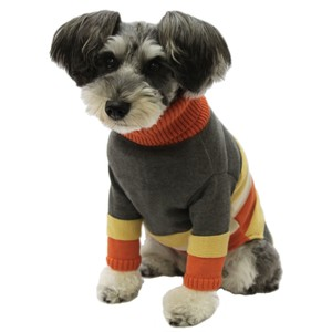 Dog Wear Dog Small Size Cable Sweater A/W Knitted Pet