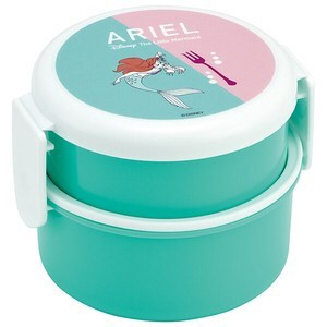 Round shape Lunch Box 2 Steps Bright colors