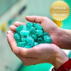 【1choice/3kg pac】お庭を鮮やかに彩る♪プラスチックで造ったカラフル防犯砂利!