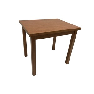 Wood Grain Melamine Table