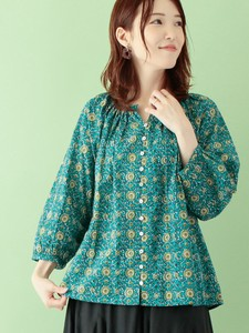 Sunflower Print Pullover Color