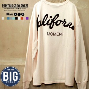 Men's Print Big Sweatshirt